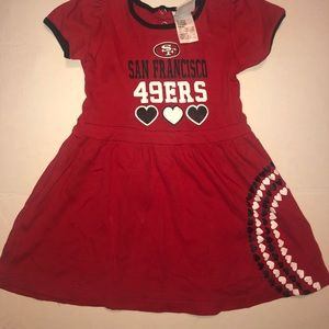 49ers NFL kids dress